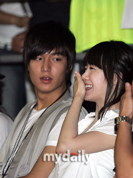 Ku hye sun and lee min ho are they dating